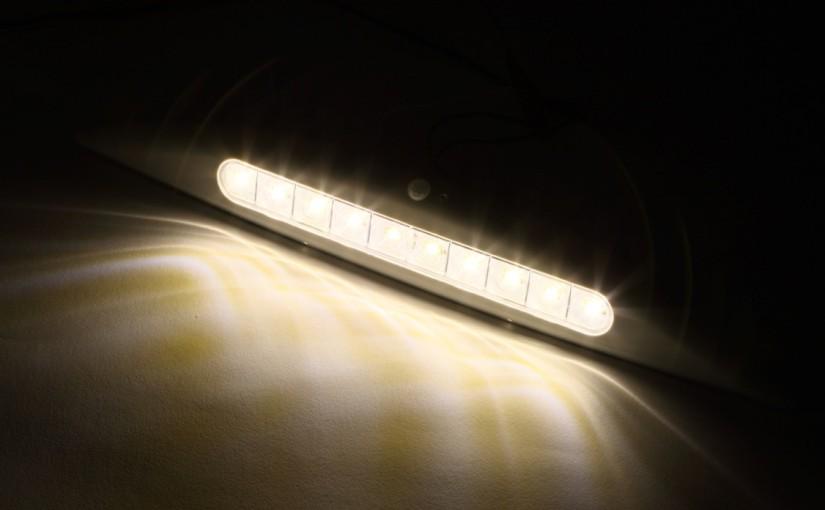 【第36回】人感センサー付きで防犯にも役立つLEDライト