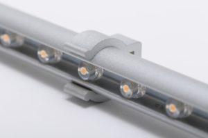 キャンピングカーパーツ ♯211081 LEDバーライト12V(warm white)シルバー