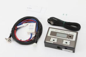 キャンピングカーパーツ 電流・電圧計 ♯185022 AVモニター 110A