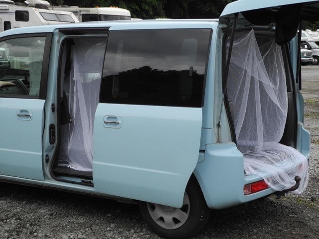 【第222回】古式ゆかしき蚊帳で大人気の車中泊に夏対策!