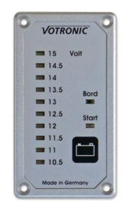 キャンピングカーパーツセンター ♯185026 VOTRONIC電圧計
